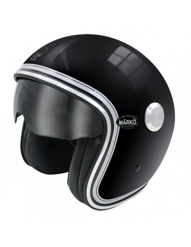 Casque Moto Jet ELEMENTS -MÂRKÖ CREAM