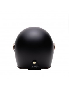 Casque Moto Jet ELEMENTS LEATHER -MÂRKÖ BLACK