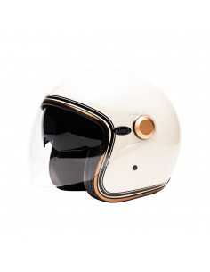 CASQUE MOTO INTEGRAL MÂRKÖ FULL MOON BLEU ORANGE