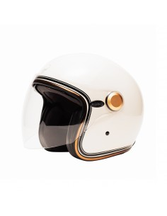 CASQUE MOTO INTEGRAL MÂRKÖ FULL MOON ROUGE