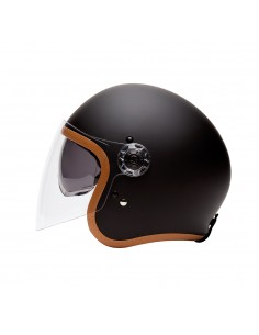 CASQUE INTEGRAL FULL MOON CARBON - MÂRKÖ (Noir/Or)