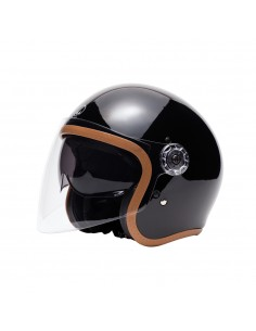 CASQUE INTEGRAL FULL MOON - MÂRKÖ (Noir/Or)