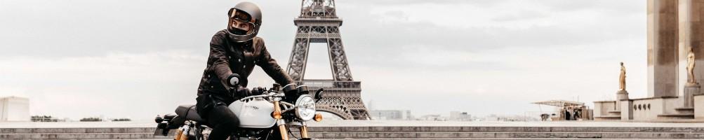Casques moto vintage de Marko Helmets